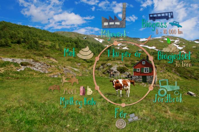 Biogasskua gir